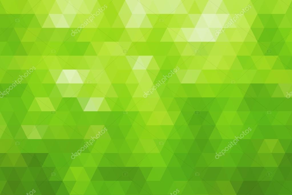 Abstracto Fondo Verde Mosaico Degradado Blanco