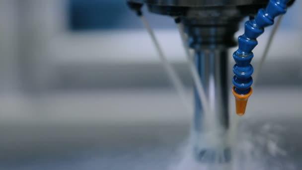 Primo piano del sistema idraulico