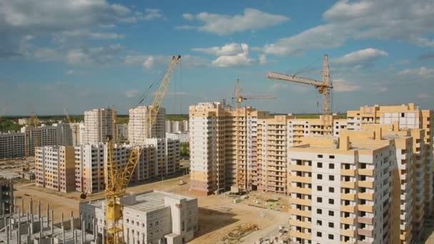 rozvoj měst. Výstavba rezidenčního