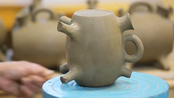ručně vyráběné, modelování hliněné výrobky