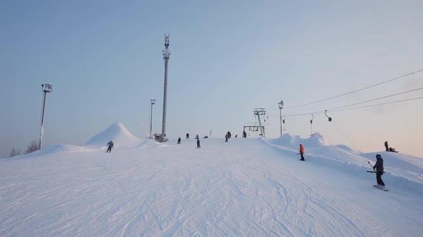 Výtah v lyžařském středisku
