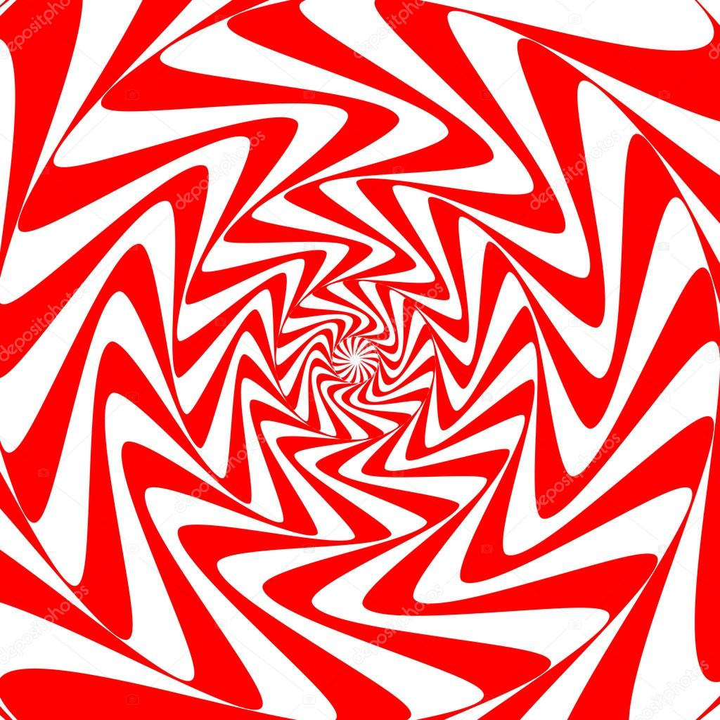 Red White Swirl Abstract Vortex Background Psychedelic