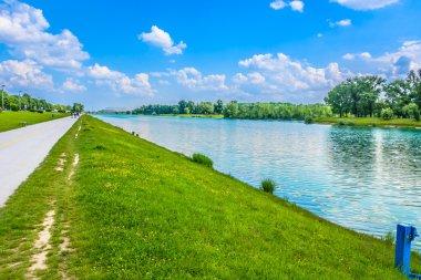 Jarun lake Zagreb.