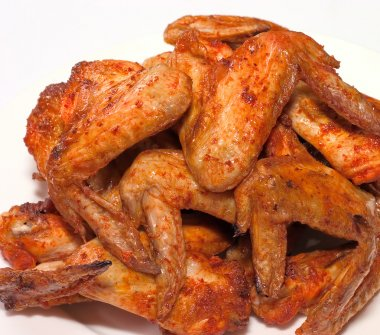 Chicken wings grill