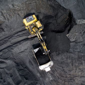 Photo Coal mining on open pit