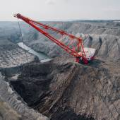 Photo Coal mining in open pit
