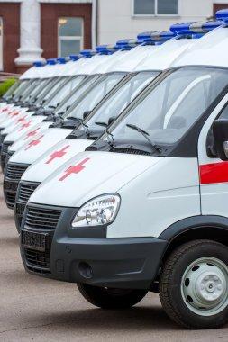 New ambulances in line