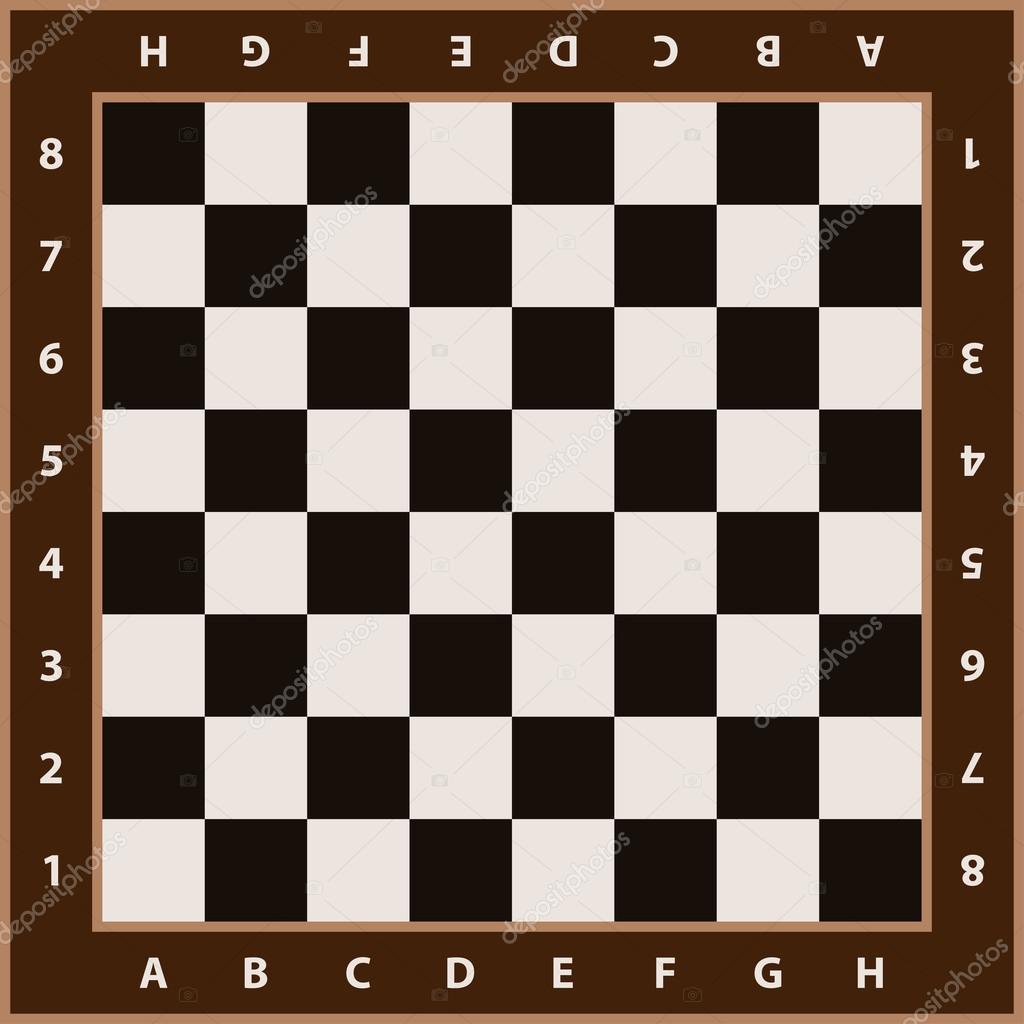 Chess Board Buy Chessboard Background Empty Chess Board Stock Vector
