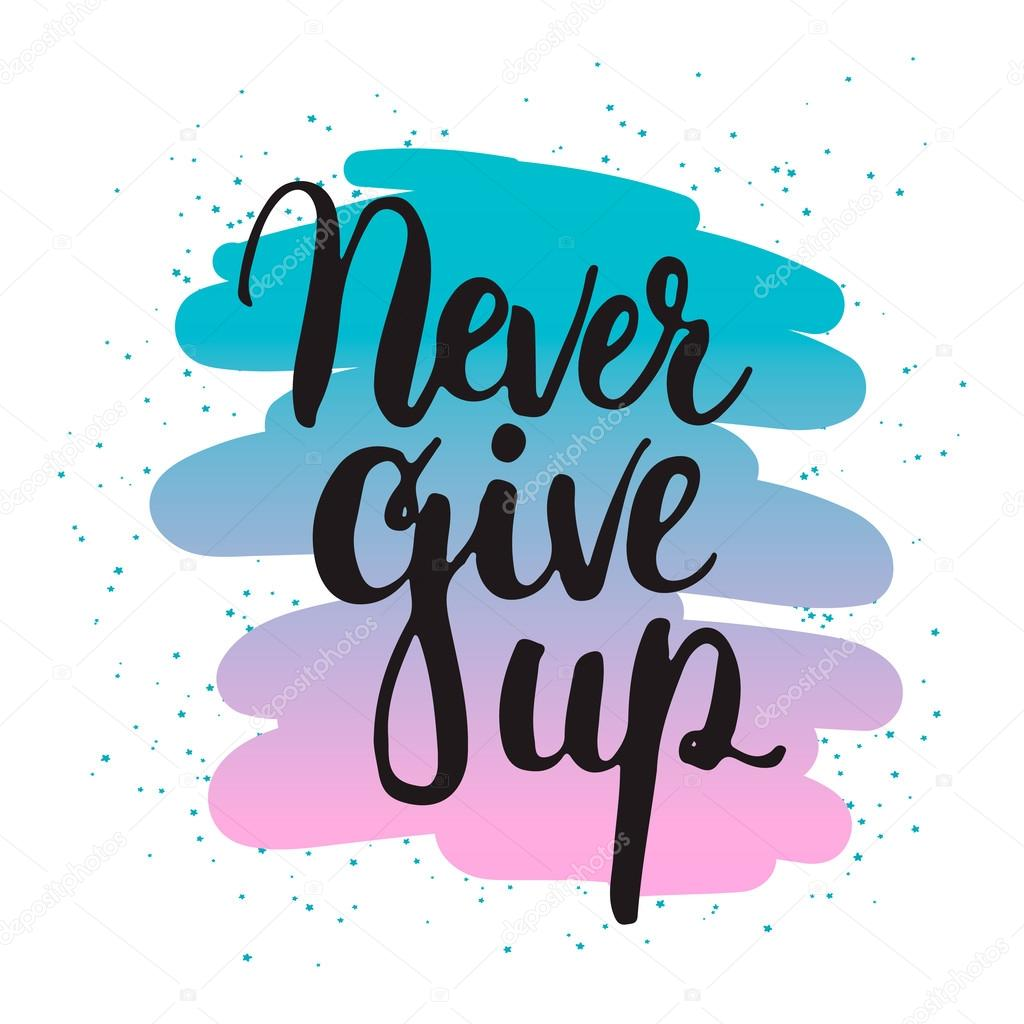 "Image result for ""never give up"" clipart"