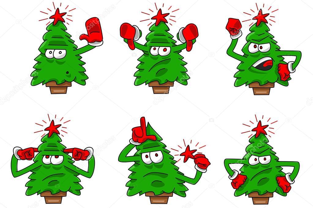 Imágenes Arbol De Navidad Dibujo A Color Expresión Del árbol De