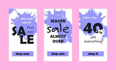 Final Day Sale Web Banners Set