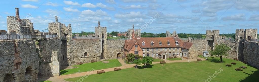 framlingham suffolk england june 15 2015 framlingham castle and poorhouse open to the public photo by umdash9