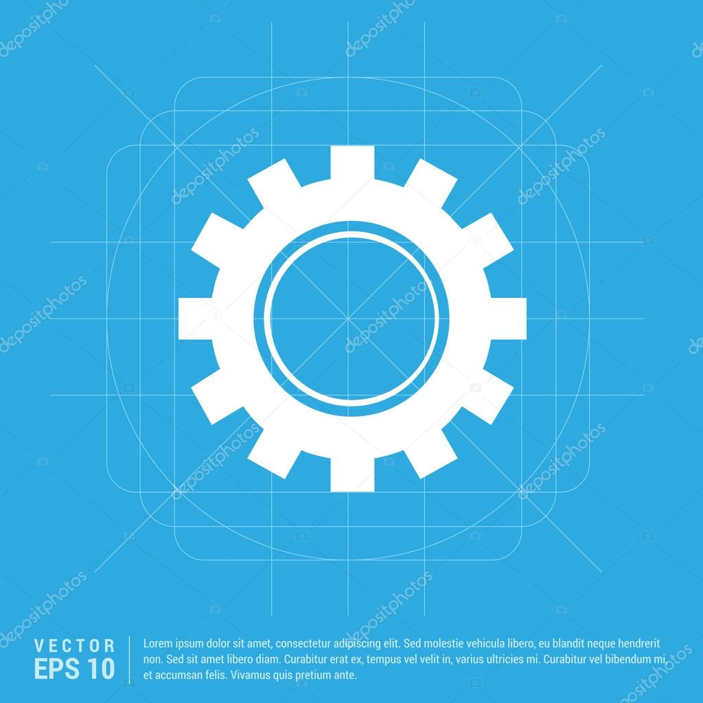 Gear, cogwheel icon