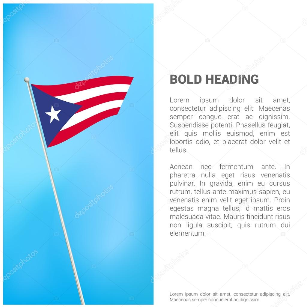 Puerto rico flag brochure stock vector ibrandify 103932926 puerto rico flag brochure stock vector biocorpaavc Image collections