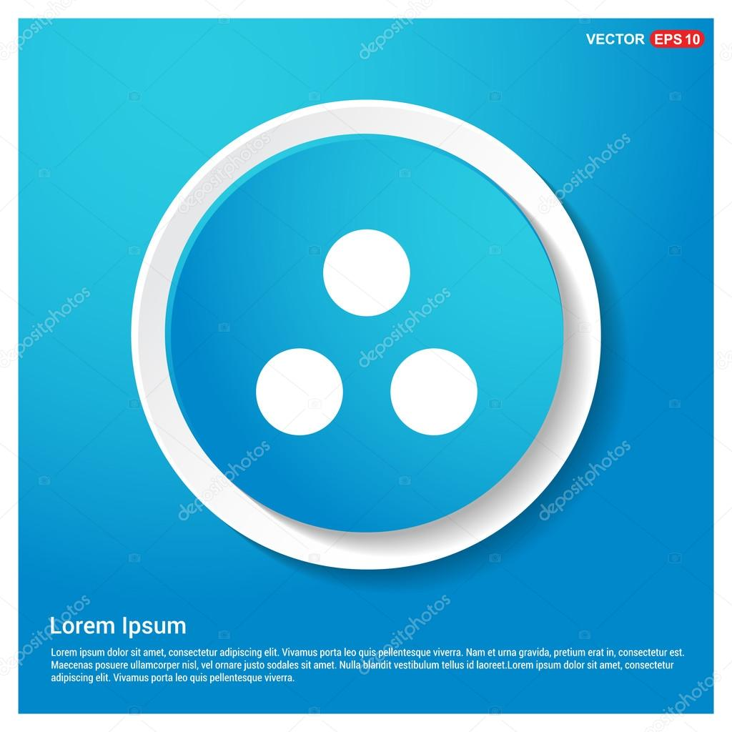 circle diagram icon with three dots