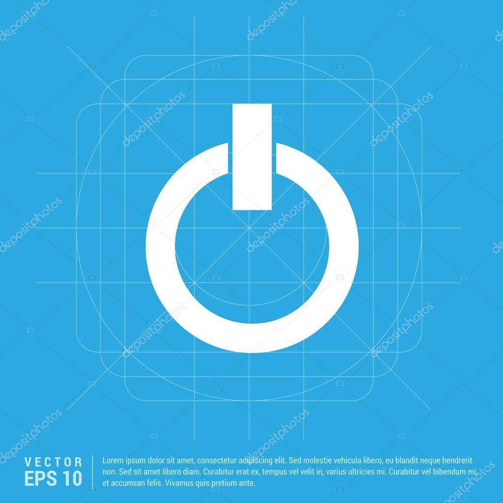 An/aus Schalter Symbol — Stockvektor © ibrandify #109527296