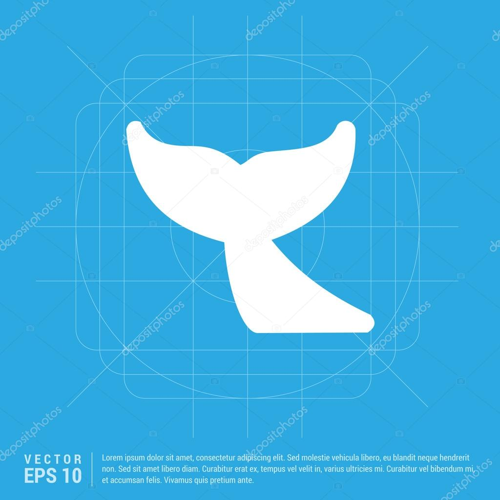 whale tail icon