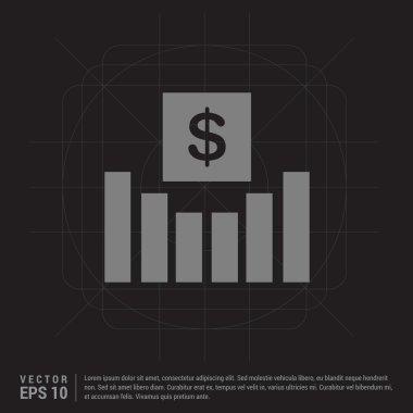 Economic investment flat icon