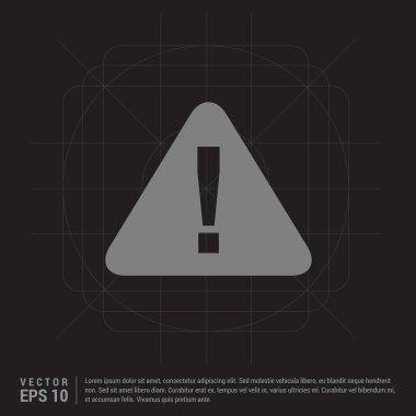 warning caution icon