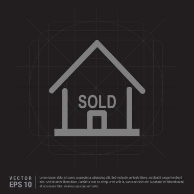 sold house icon