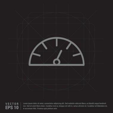 speedometer web icon
