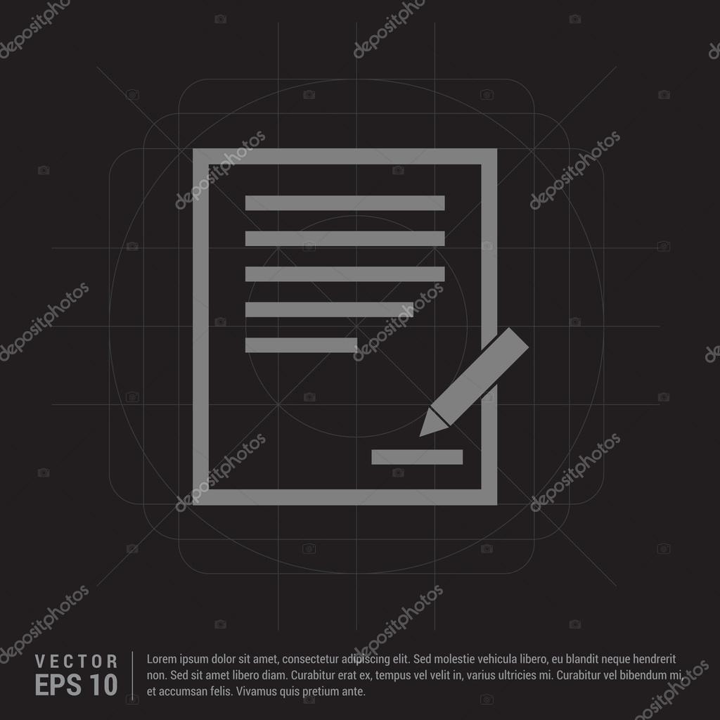 Business Vertrag II — Stockvektor #116180446