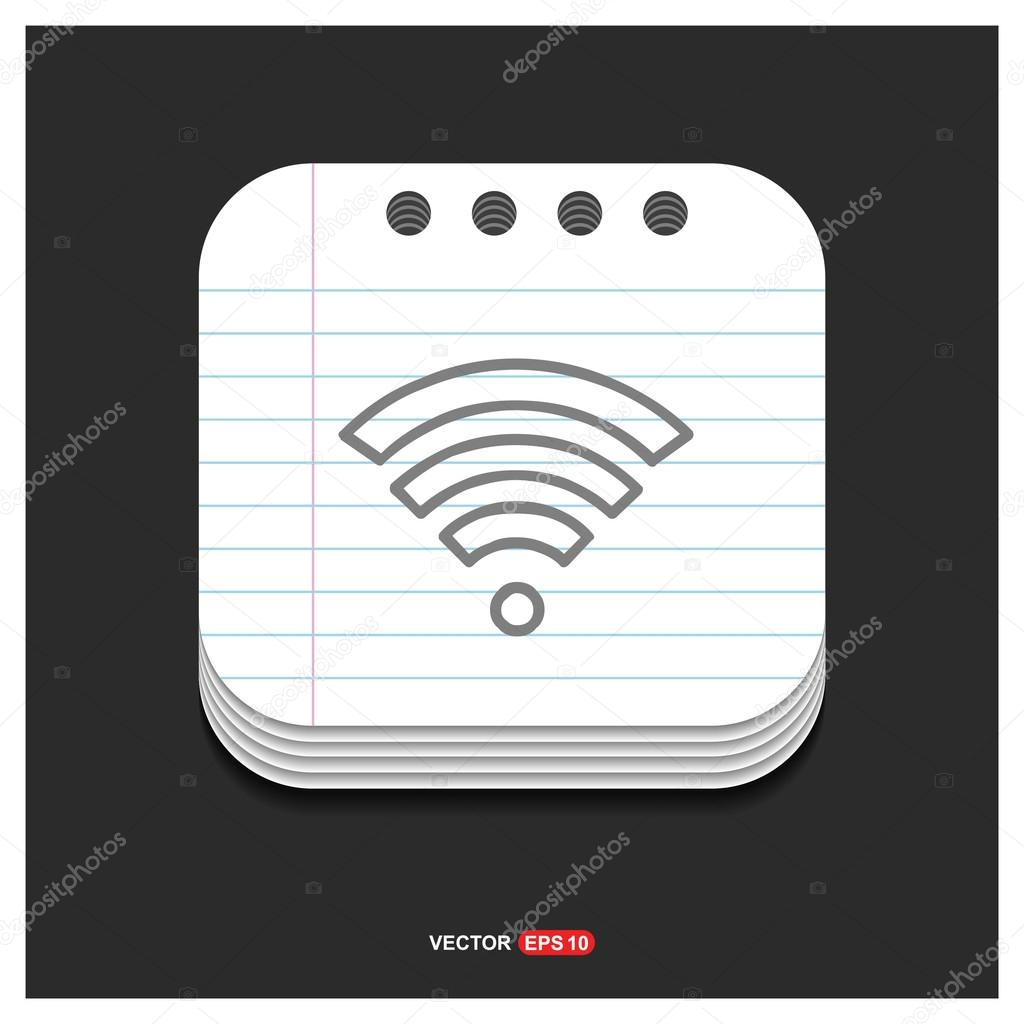 wifi sign icon