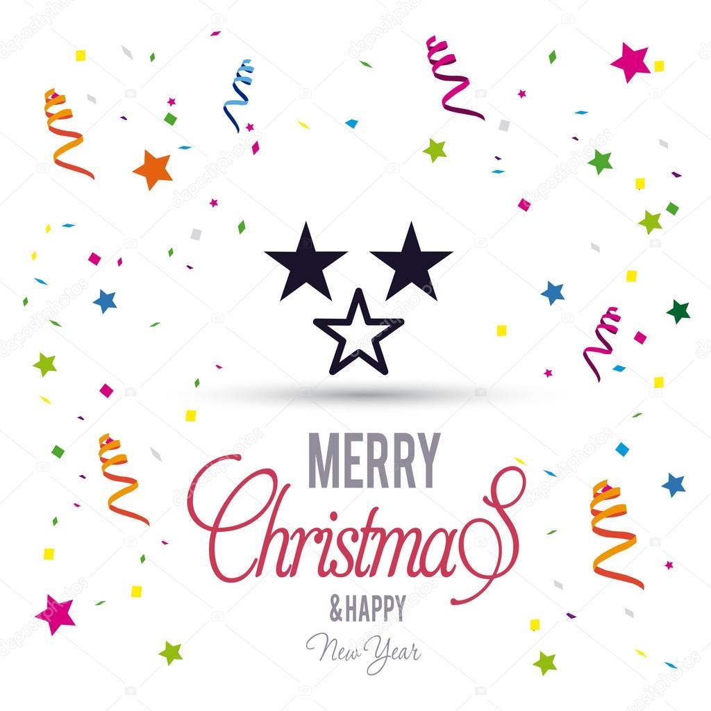 Gruß Weihnachtskarte mit Sternen — Stockvektor © ibrandify #92792974