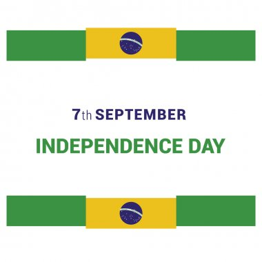 Brazil Independence Day card