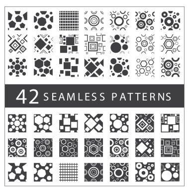 beautiful geometric patterns set