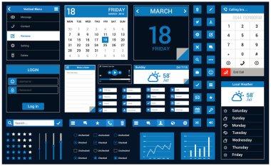 Mobile application interface concept