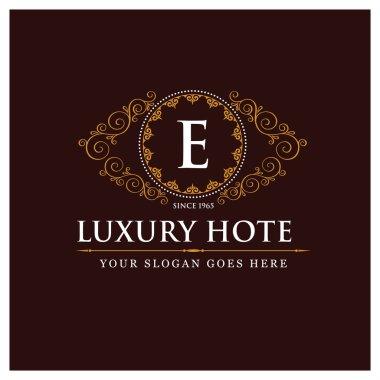 Elegant line art logo design