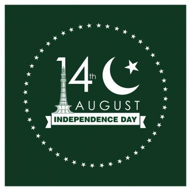 Pakistan Independence Day Card