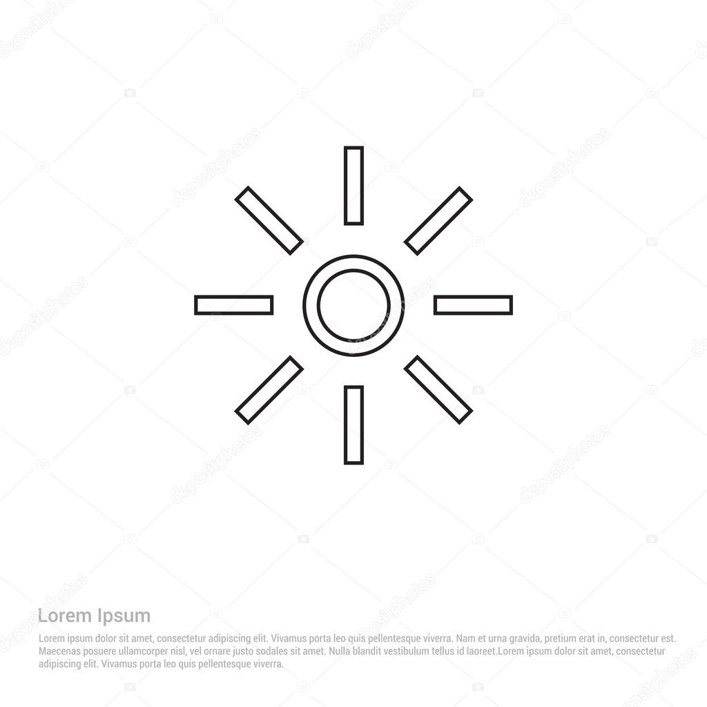 Led light icon stock vector ibrandify 93233936 led light icon stock vector biocorpaavc Images