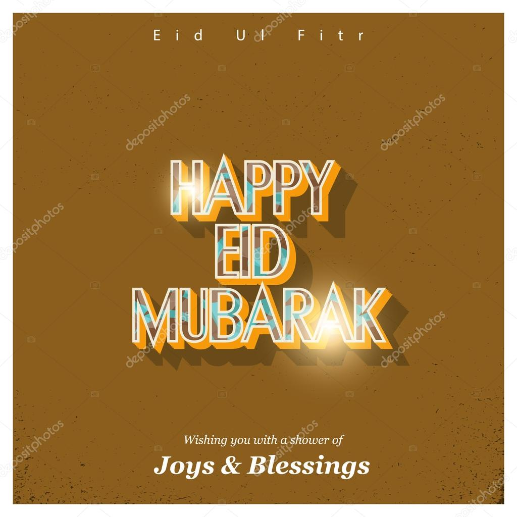 Eid ul fitr islamic festival greeting card stock vector eid ul fitr islamic festival greeting card stock vector m4hsunfo