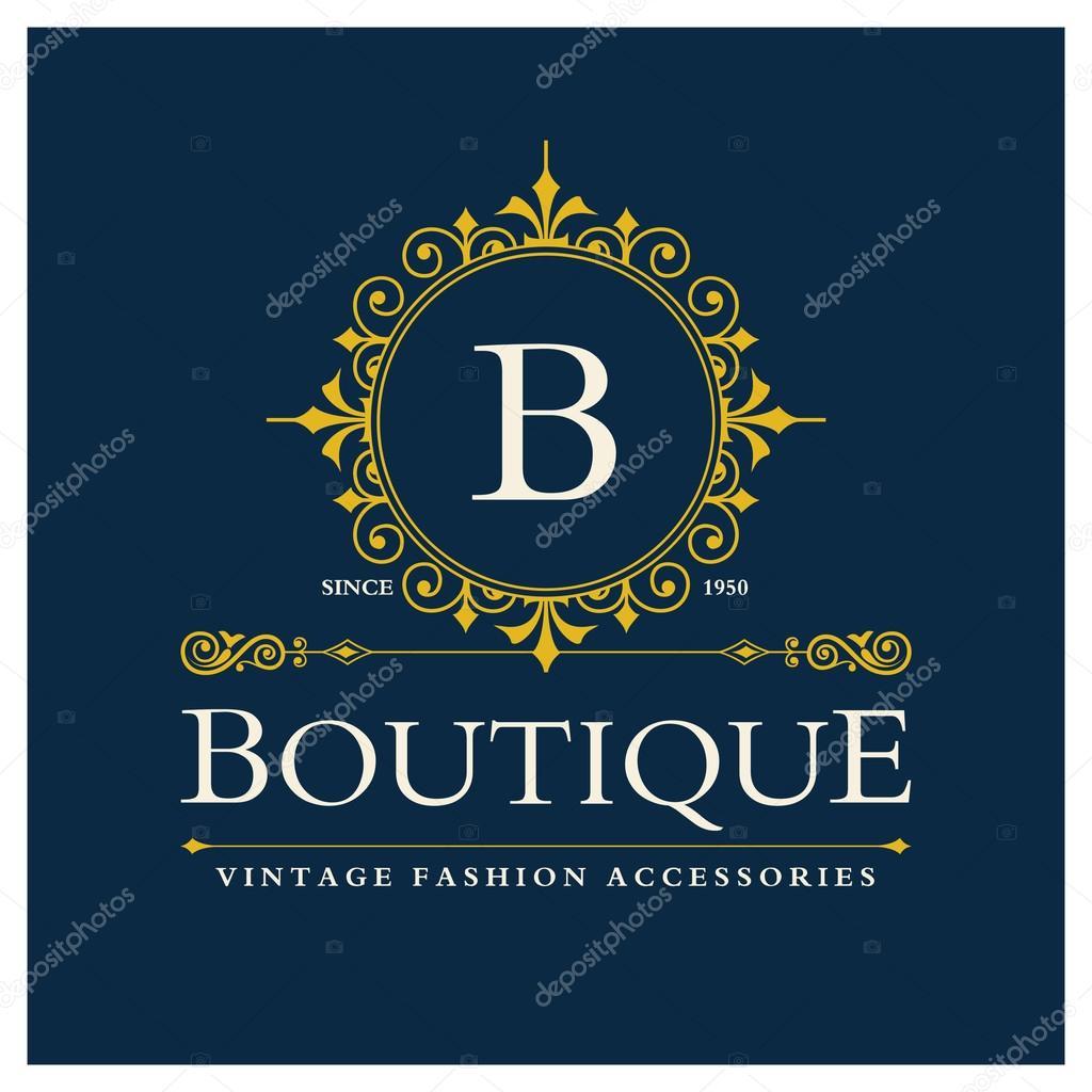 Boutique Logo Design with Letter B — Stock Vector © ibrandify #93241426