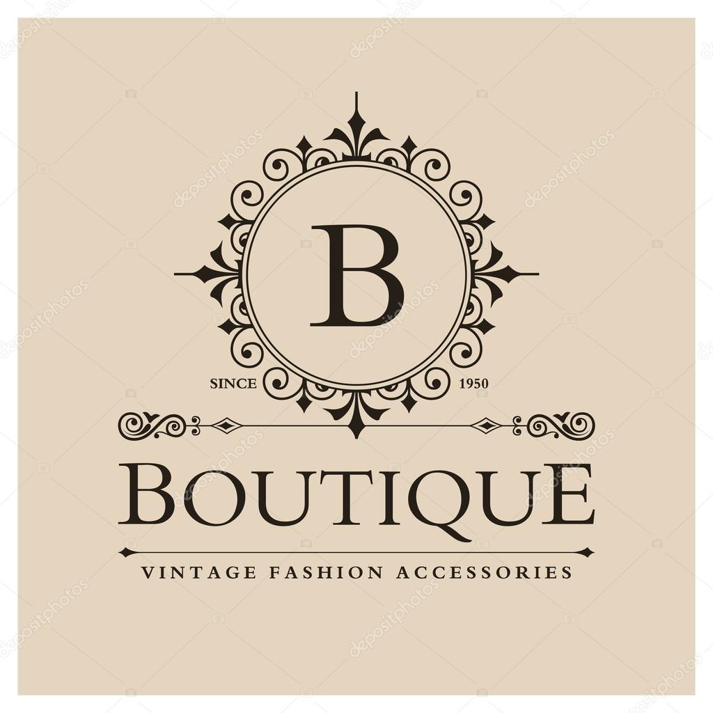 Boutique Logo Design with Letter B — Stock Vector © ibrandify #93244598