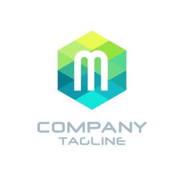 M Letter Logo Icon