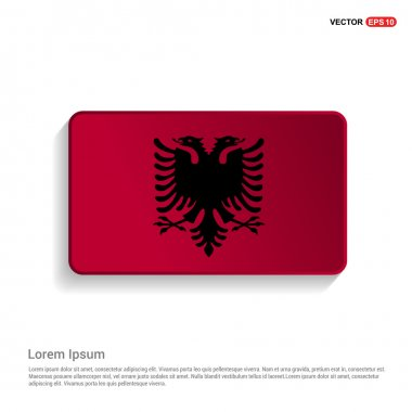 Albania flag in official colors