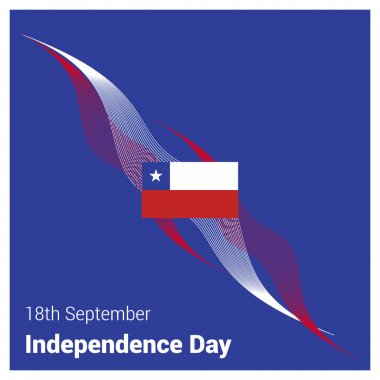 Chile Independence Day card
