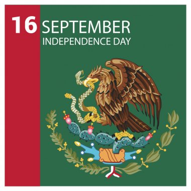 Mexico Independence Day Card