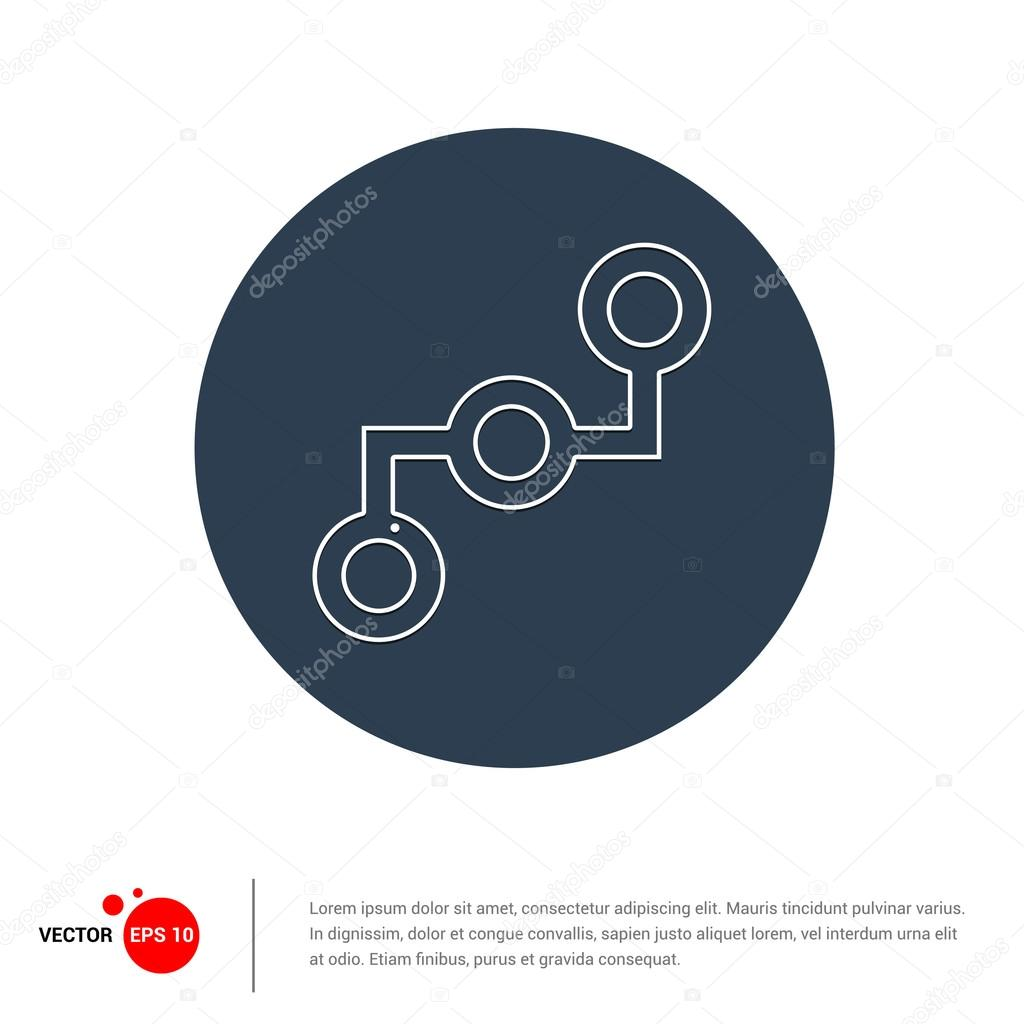 Projekt-Verbindungssymbol — Stockvektor © ibrandify #93715974