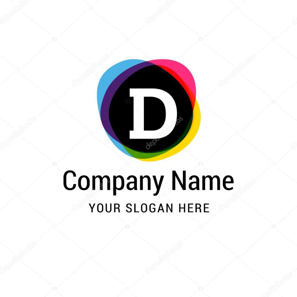logo lettre d D letter logo template — Stock Vector © ibrandify #93717986 logo lettre d