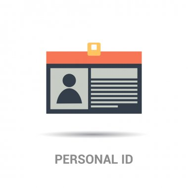 personal id card icon