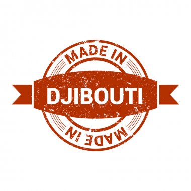 made in Djibouti stamp