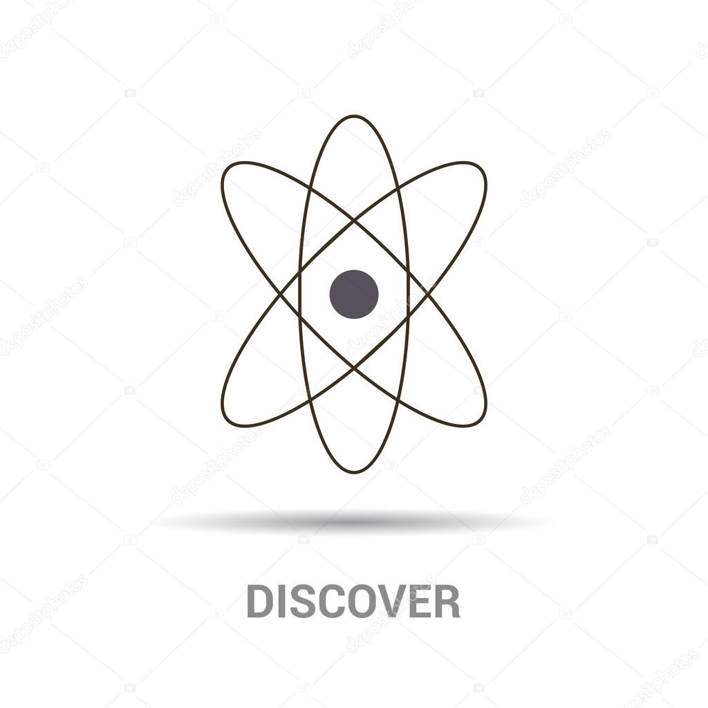 Atom Physics Symbol Stock Vector Ibrandify 93734952