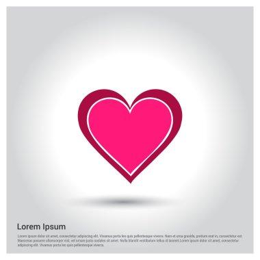 Web  heart icon.