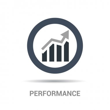 Performance chart Icon
