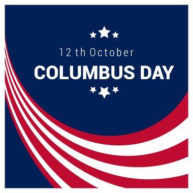 Happy Columbus Day poster