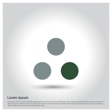 icon with three dots